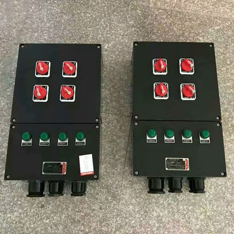 Zone1 / 2 Start Stop Start Stop Control Box , Push Button Control Station For Hazardous Area