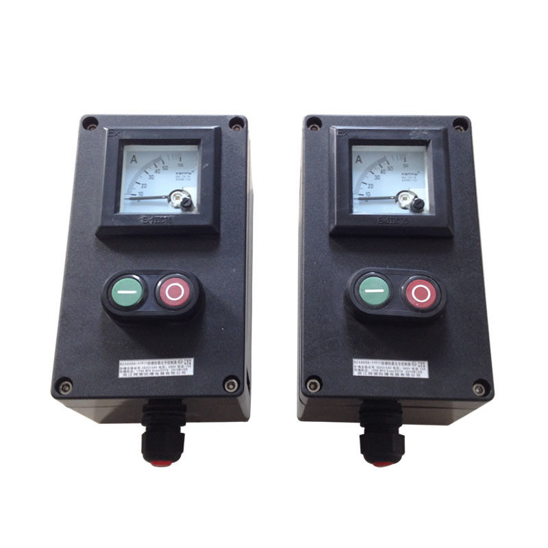 ABS Explosion Proof Control Station , Custom Emergency Stop Control Station